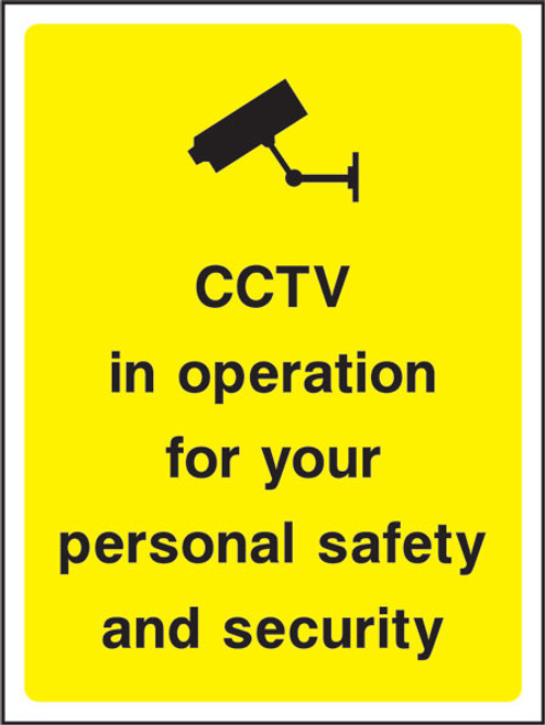 CCTV in operation for your...