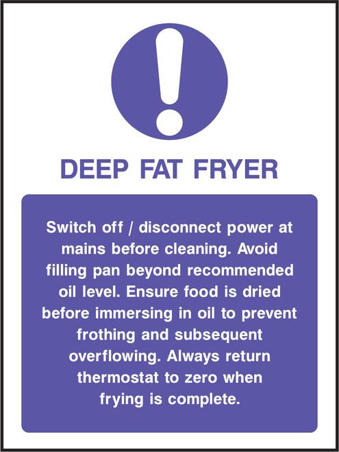 Deep fat fryer.