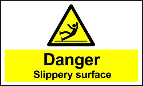 Danger Slippery Surface Anti-slip