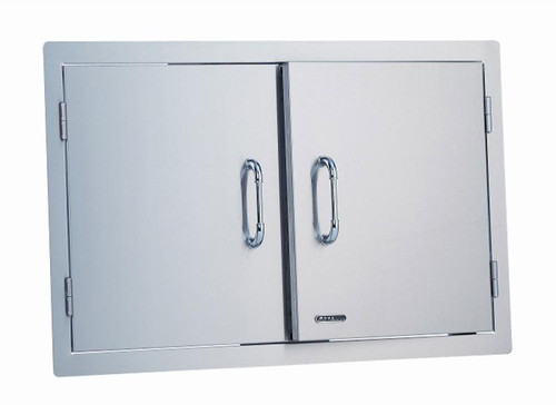 "33568 30"" Double Door, Stainless Steel"