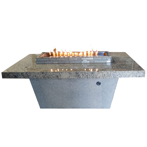 Santa Cruz Natural Stone Fire Table