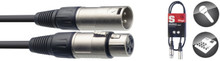 Stagg SMC1 1m Microphone Cable XLR to XLR