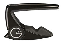 G7th Perfomance 2 Capo Acoustic / Electric Guitar - Black