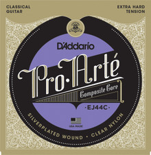 D'Addario EJ44C Pro-Arté Composite, Extra-Hard Tension Strings
