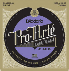 D'Addario EJ44LP Pro-Arté Lightly Polished Composite, Extra-Hard Tension Strings