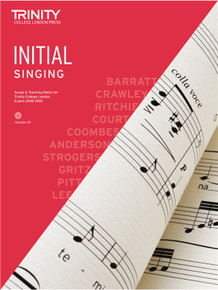 Trinity College London Singing 2018-2021 Book & CD - Initial Grade