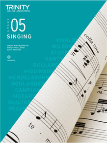 Trinity College London Singing 2018-2021 Book & CD - Grade 5