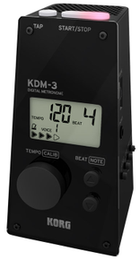 Korg KDM-3 Digital Metronome - Black
