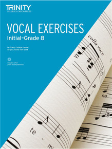 Trinity College London Vocal Exercises 2018 Initial - Grade 8 (with CD)