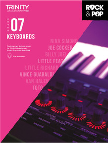 Trinity Rock & Pop 2018 Keyboards - Grade 7