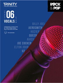 Trinity Rock & Pop Male Vocals 2018 - Grade 6