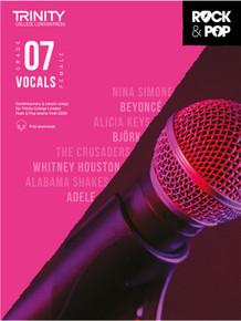 Trinity Rock & Pop Female Vocals 2018 - Grade 7