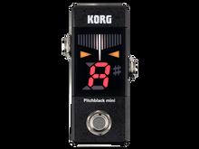 Korg Pitchblack Mini Pedal Guitar & Bass Tuner