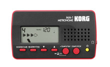 Korg MA-1 Portable Solo Metronome - Black & Red