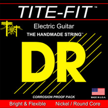 DR Strings Tite-Fit Nickel Electric Guitar Strings - .010 - .050