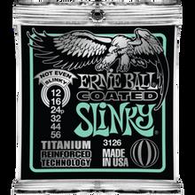 Ernie Ball Coated Titanium RPS Not Even Slinky .012 - .056 Guitar Strings