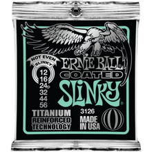 Ernie Ball Coated Titanium RPS Not Even Slinky .012 - .056 Guitar Strings