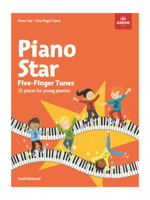 Piano Star Five-Finger Tunes - 25 Pieces for Young Pianists
