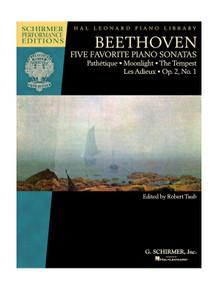 Beethoven Five Favourite Piano Sonatas