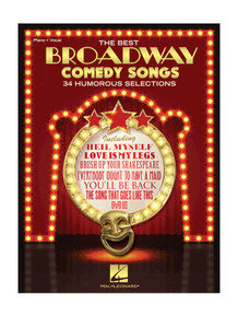 The Best Broadway Comedy Songs - Piano Vocal