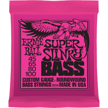 Ernie Ball Super Slinky .045 - .100 Nickel Wound Bass Guitar Strings