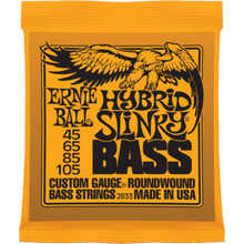 Ernie Ball Hybrid Slinky .045 - .105 Nickel Wound Bass Guitar Strings