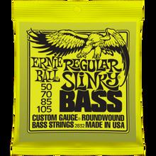 Ernie Ball Regular Slinky .050 - .105 Nickel Wound Bass Guitar Strings