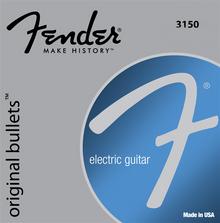 Fender 3150LR Light Regular .009 - .046 Pure Nickel Original Bullets Electric Guitar Strings