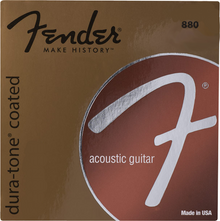 Fender 880L Light .012 - .052 Coated 80/20 Bronze Acoustic Guitar Strings