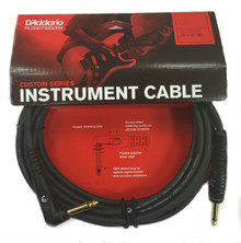 Planet Waves Custom Series Instrument Cable - 10ft Angled