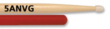 Vic Firth American Classic Hickory Drum Sticks - 5A Vic Grip Nylon Tip