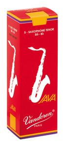 Vandoren Java Red Tenor Saxophone Reeds Box of 5 - 2.5