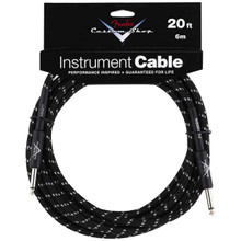 Fender Custom Shop Black Tweed Performance Series Instrument Cable - 20ft