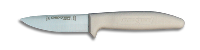 "Dexter Russell Sani-Safe 3 1/2"" Vegetable/Utility Knife 15313 S151-PCP"