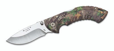 Buck 395 Folding Omni Hunter 10PT Camo  (7494)