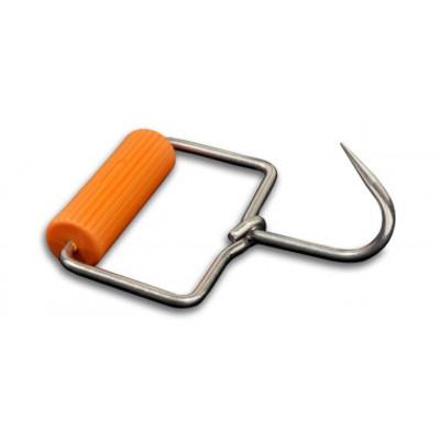 "Dexter Russell 4 1/2"" Open Grip Hook Round Ribbed Handle 1/4"" Diameter 42050 T323 PLAS"