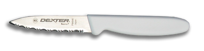 """Dexter Russell Basics 3 1/8"""" Scalloped Tapered Parer 31612 P94846"""