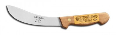 "Dexter Russell Traditional 6"" Skinning Knife, Hollow Ground 6501 012G-6HG"
