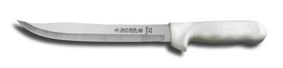 S142-9 Dexter Sani-Safe 9 inch scalloped utility slicer