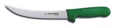 "Dexter Russell Sani-Safe 8"" Breaking Knife Green Handle 5523G S132N-8G (5523G)"