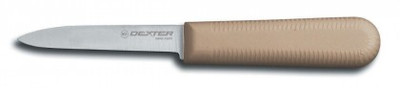 "Dexter Russell Sani-Safe 3 1/4"" Cooks Style Paring Knife Tan Handle 15303T S104T-PCP (15303T)"