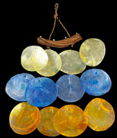 Saddle Oyster Wind Chime • 3 Colors
