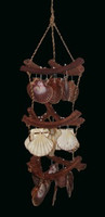 Curly Vine Chime with Flats and Radula Pectens