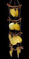 "24"" Curly Vine with Saddle Oyster Wind Chimes"
