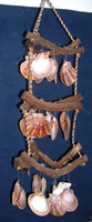 3 Layers Curly Vine Wind Chimes