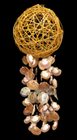 Sigid Ball Wind Chime with Flats and Saddle Oyster