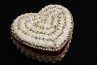 Shell Jewelry Box • Heart