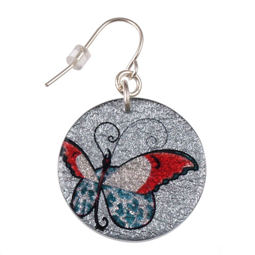4120-23 - Butterfly Earring