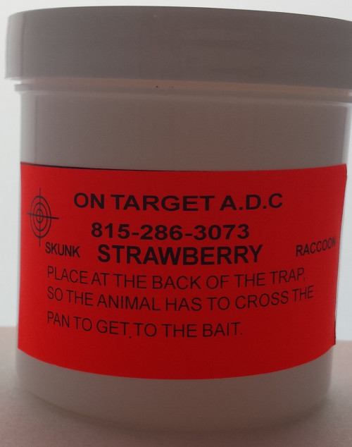 Strawberry paste bait 6oz