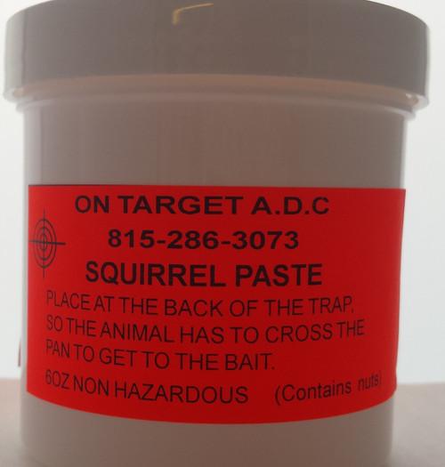 Squirrel paste bait 6oz
